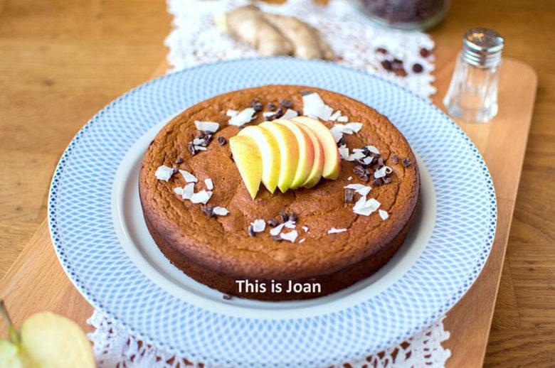 Gezonde gembercake met appel maken