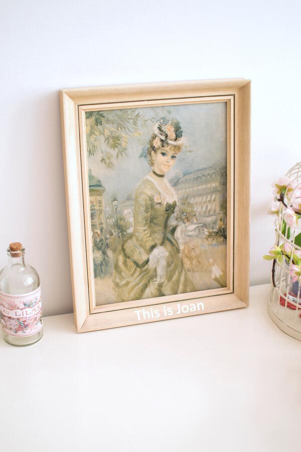 Schilderij met vrouw 1910