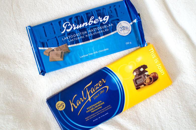 Karl Fazer en Brunberg Finse chocolade