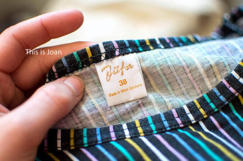 Vintage kleding herkennen