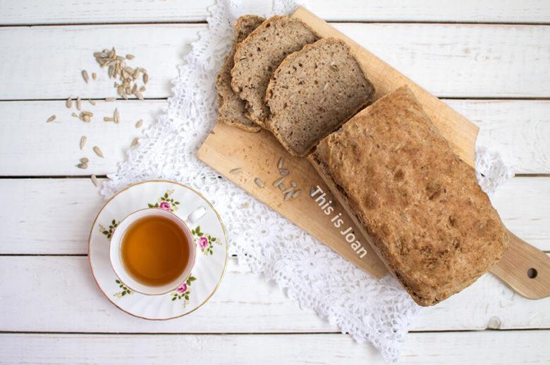 Volkoren speltbrood met zaden