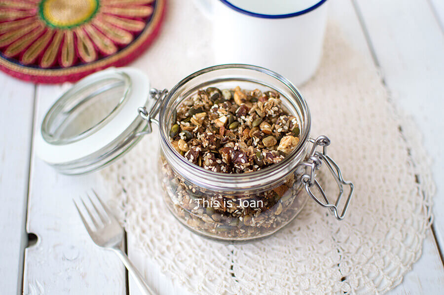 Glutenvrije zaden granola