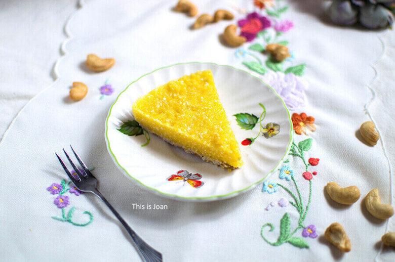 Vegan mangotaartje