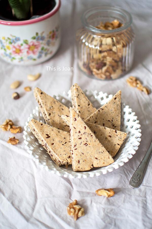 Glutenvrije scones met citroen en lijnzaad