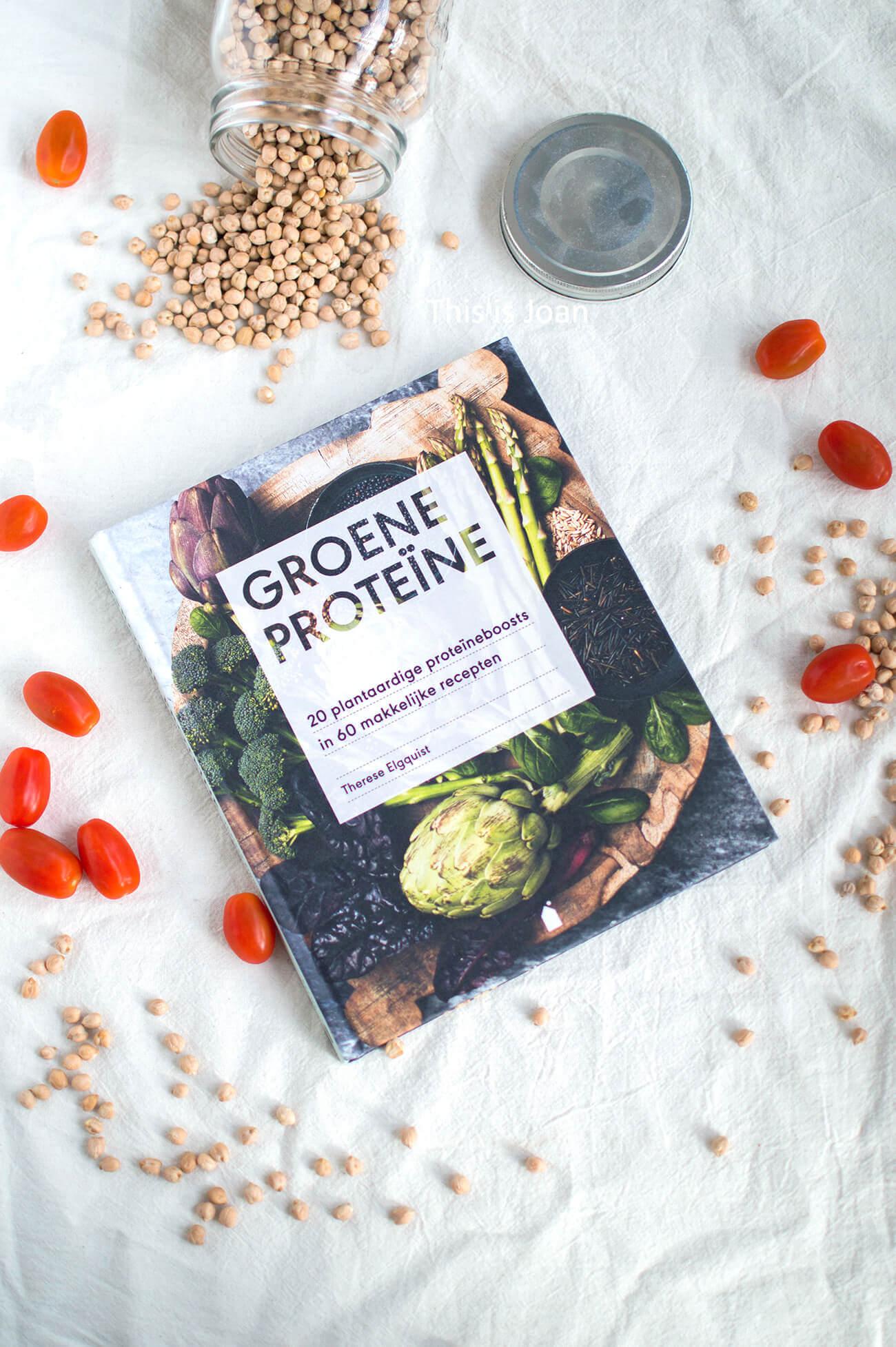 Groene proteïne boek Therese Elgquist