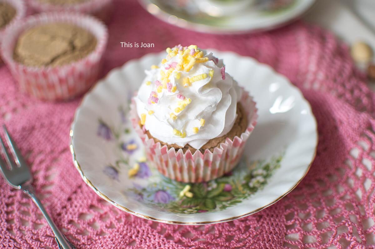 Vegan vanille cupcakes recept