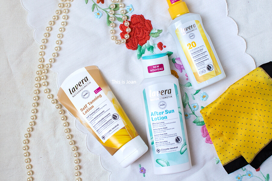 Review Lavera zonnebrand, After Sun Lotion en Self Tanning Lotion