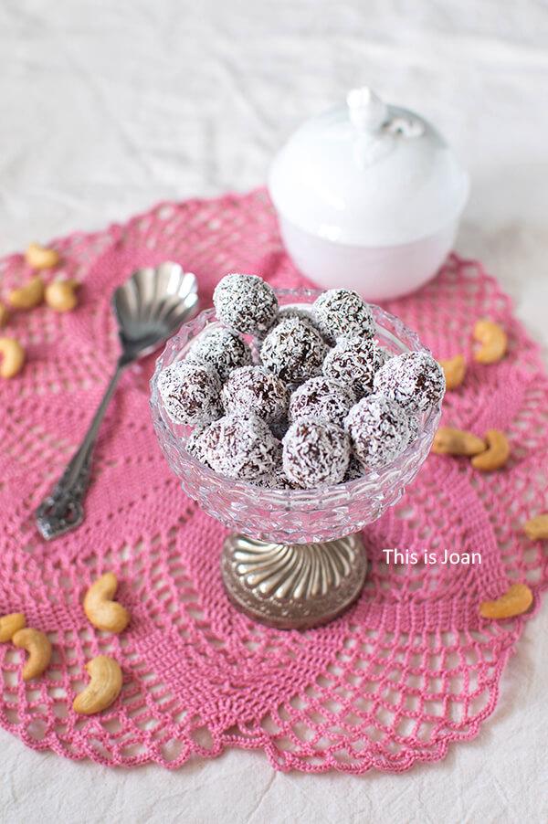 Chocolade-kokosballetjes