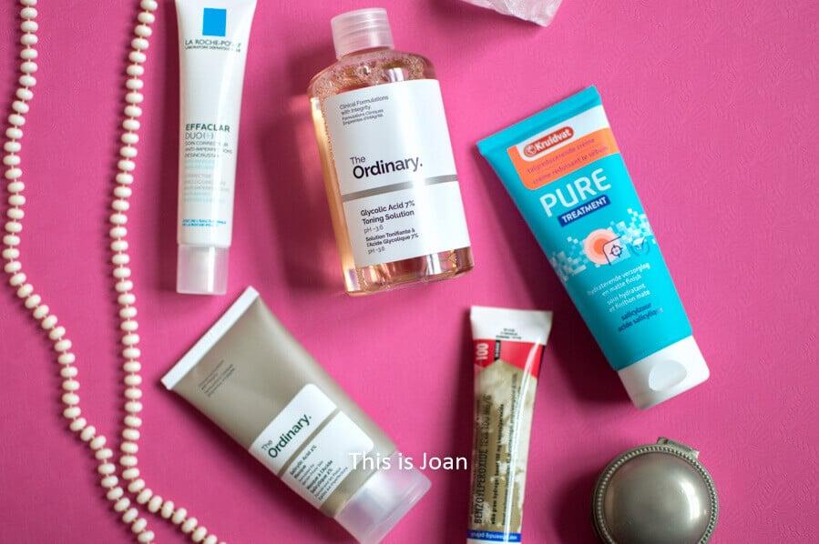 Acne producten